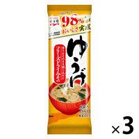 永谷園 粉末ゆうげ 1セット(3袋入) 計18食 インスタントみそ汁