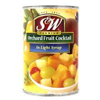 S&Wプレミアム フルーツカクテル 1缶