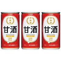 月桂冠 甘酒190g缶しょうが入り 3缶
