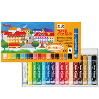 ぺんてる パッセル(クリアラベル巻きパス) 16色 GHPAR-16 1箱(60セット入) (取寄品)