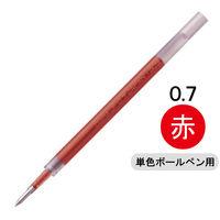 ボールペン替芯 サラサ単色用 JF-0.7mm芯 赤 ゲルインク 10本 RJF7-R ゼブラ