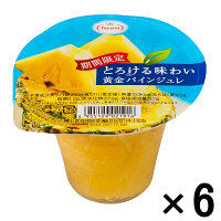 たらみ とろける味わい黄金パインジュレ 1セット(6個入)