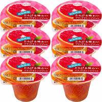 たらみ とろける味わいブラッドオレンジジュレ 1セット(6個入)