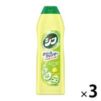 Jif(ジフ) ジフレモン クリームクレンザー キッチン用洗剤 本体 270mL 1セット(3本入) ユニリーバ