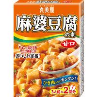 丸美屋 麻婆豆腐の素 甘口 162g 1個