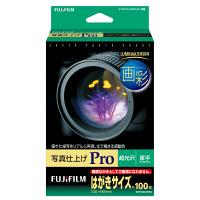 富士フイルム 画彩 写真仕上げPro WPHS100PRO はがきサイズ 1袋(100枚入)