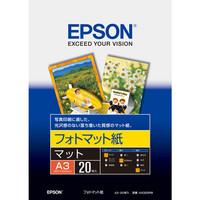 エプソン フォトマット紙 A3 KA320PM 1袋(20枚入)