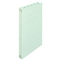 プラス フラットファイル厚とじ A4タテ 100冊 ブルー No.021NW 樹脂製とじ具