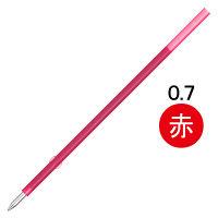 ぺんてる 油性ボールペン替芯 BKS7H 0.7mm 赤 1箱(10本入)