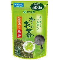 おーいお茶若芽・若茎入り緑茶500g