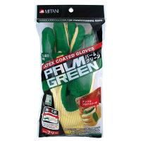 ミタニコーポレーション(MITANI) ゴム張り手袋 #501-YG パームグリーン/イエロー フリーサイズ 220040 1双 (取寄品)