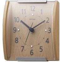 【アウトレット】リズム時計 スタンダードスタイル109 クオーツ木枠置掛兼用時計 1個 茶 8MGA35RH07