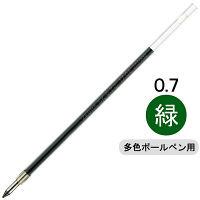 油性ボールペン替芯 多色用 SK-0.7mm芯 緑 10本 BR-6A-SK-G ゼブラ