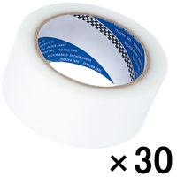 寺岡製作所 P-カットテープ 4140 強粘着 半透明 幅50mm×25m巻 1箱(30巻入)