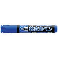 シヤチハタ 乾きまペン 油性マーカー 中字・丸芯 K-177N 青 1本