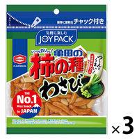 亀田製菓 亀田の柿の種わさび 3袋