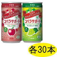コバラサポート 2味セット(りんご・マスカット) 185mL 各30本 大正製薬 ダイエットドリンク