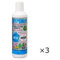HYPONeX(ハイポネックス) ハイポネックス原液 450ml×1セット(3本入) 土・砂・肥料 ハイポネックスジャパン