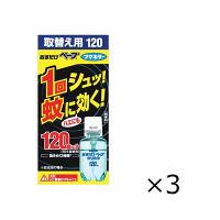 おすだけベープ 120回分セット 無香料 取替え用 28mL×1セット(3個入) 蚊取り器 フマキラー