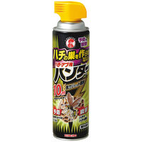 <LOHACO> ハチ・アブ用ハンター ハチの巣を作らせないハチ・アブ用ハンター スプレー式 約2週間 510mL×1本 虫よけ・殺虫剤 大日本除虫菊