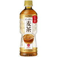 ポッカサッポロ にっぽん麦茶 525ml 1箱(24本入)