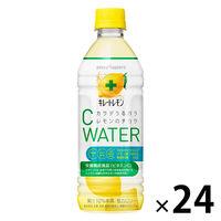 ポッカサッポロ キレートレモン Cウォーター 500ml 1箱(24本入)