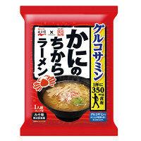 藤原製麺 かにのちからラーメン みそ味 1人前 104.2g