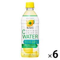 ポッカサッポロ キレートレモン Cウォーター 500ml 1セット(6本)