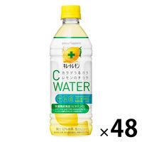 ポッカサッポロ キレートレモン Cウォーター 500ml 1セット(48本)