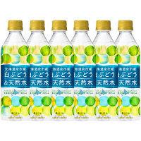 ポッカサッポロ 北海道余市産白ぶどう&天然水 500ml 1セット(6本)