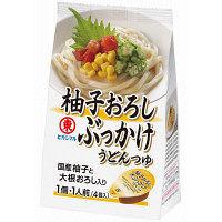 ヒガシマル 柚子おろしぶっかけうどんつゆ 4個入×1袋
