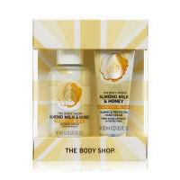 【数量限定】ザ・ボディショップ(THE BODY SHOP) アーモンドミルク&ハニーハンド&シャワークリーム デュオ