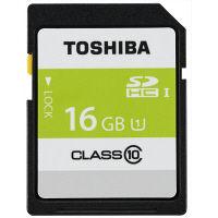 東芝 SDHCメモリーカード SDAR40N16G