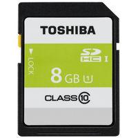 東芝 SDHCメモリーカード SDAR40N08G