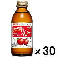【アウトレット】常盤薬品 スッキリりんご 160ml 1箱 (30本入)