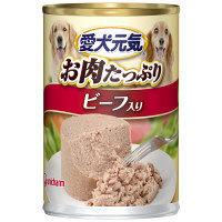 愛犬元気 ドッグフード ビーフ入り 375g 1セット(12缶) ユニ・チャーム