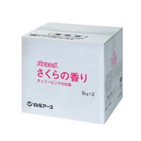 白元アース バスキング さくらの香り S1002-0 1箱(16kg:8kg×2袋入)