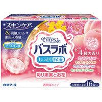 白元アース HERSバスラボ 彩り果実とお花アソート 22631-7 1箱(16錠入)