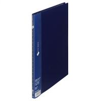 プラス スーパーエコノミークリアーファイル A4タテ 10ポケット ネイビー 紺 固定式 10冊 FC-121EL 88411