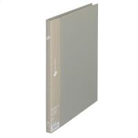 プラス スーパーエコノミークリアーファイル A4タテ 20ポケット グレー FC-122EL 88420 1箱(10冊入)