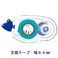 トンボ鉛筆 テープのり ピットテープM 交換テープ のり幅8.4mm PR-MS8.4 1箱(10個入)