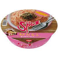 日清食品 日清Spa王 醤油バターたらこ 24613 1箱(12食入)