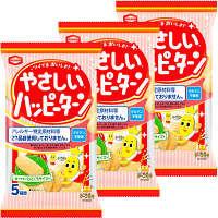 亀田製菓 やさしいハッピーターン 1セット(3袋入)
