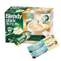 AGF ブレンディ スティック カフェオレ 1箱(100本入)+アイスカフェオレ&アイスカフェオレほろにが 各1本 セット