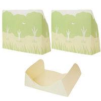 【アウトレット】飛びちらニャン!ネコ砂ガード・かくれんぼセット 1セット(3枚:縦型ガード×2、床用ガード×1) マーナ