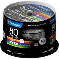 三菱ケミカルメディア 音楽用CD-R スピンドル MUR80FP50SV1 1パック(50枚入)