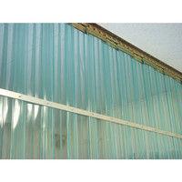アズワン 食品工場用ビニールカーテンシート 巾300mm×長さ30m ブルー 1巻 2-7751-02 (直送品)