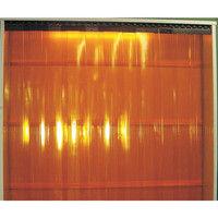 アズワン 食品工場用ビニールカーテンシート 巾300mm×長さ30m オレンジ 1巻 2-7751-04 (直送品)