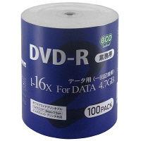 磁気研究所 データ用DVD シュリンク DR47JNP100_BULK4 1パック(100枚入)