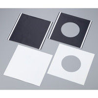 MCC(MaxClean) エアシャワー用粘着シート ブラック 平板 50枚入 MAX-4001BK 1箱(50枚) 2-3591-03 (直送品)